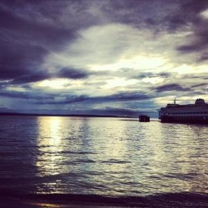 blue ferry