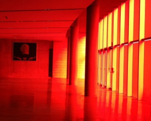city hall interior red doors1