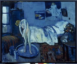 Picasso the blue room