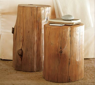 Tree stump table beautiful musings for Stump furniture making