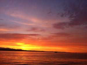 sunset aug