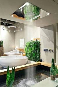 waterfall bathroom