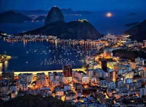 botafogo bay rio de janerio brazil