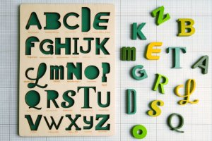 font puzzle