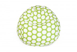 One-Kings-Lane-Polka-Dots-Beanbag-Hot-Green-300x204