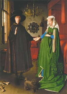 Jan Van Eyck: The Arnolfini Wedding, circa 1435