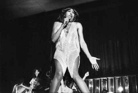Ike And Tina Turner Perform In Amsterdam