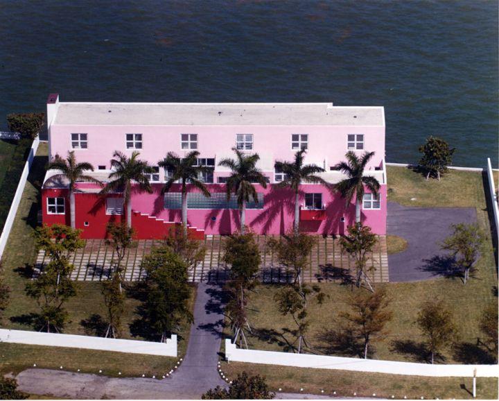 The Pink House, Miami Shores, Florida, 7800