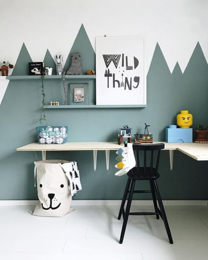 CORNER-DESK-WITH-PAINTED-WALL-FROM-MOMMO-DESIGN-BLOG-IMAGE-FROM-WILD-ONES