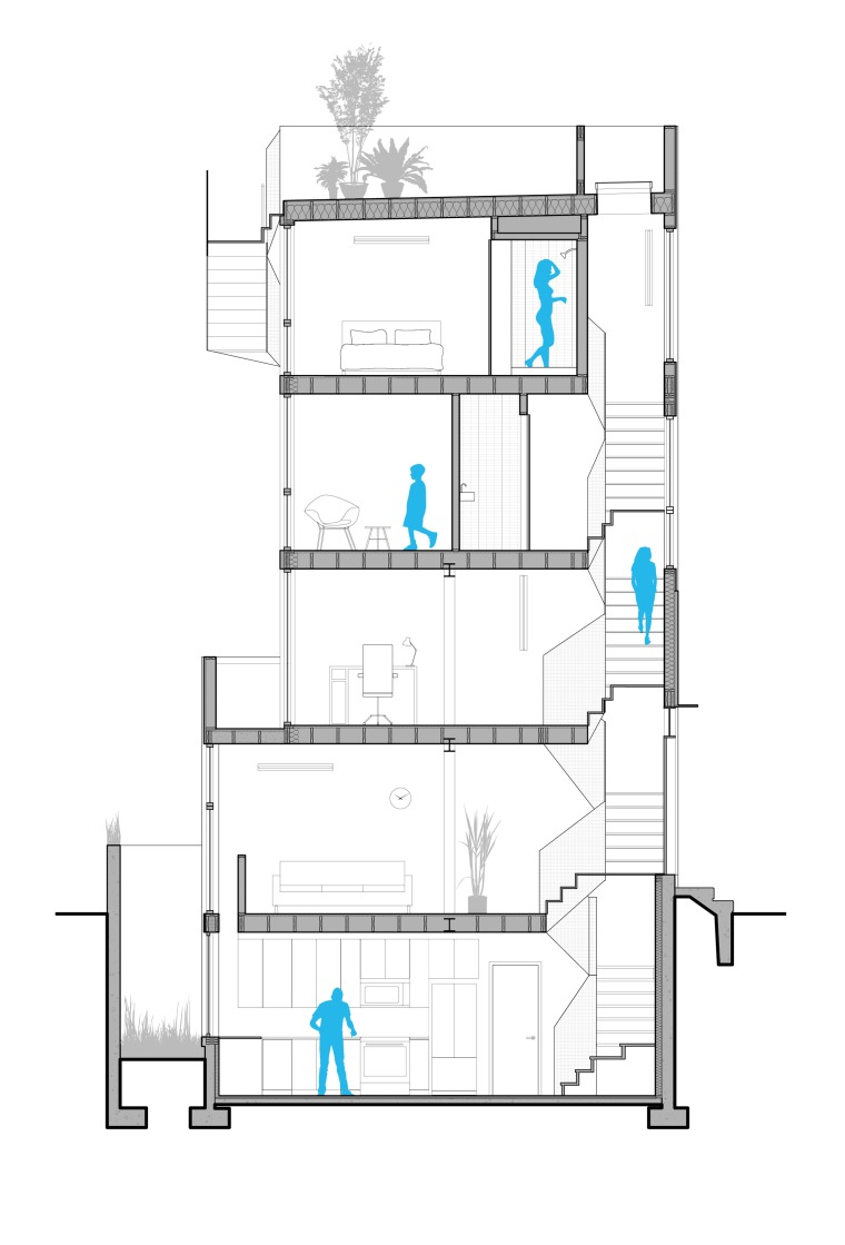 6tiny-tower-isa-architecture-residential-philadelphia-pennsylvania-usa_dezeen_2364_long-section-plan