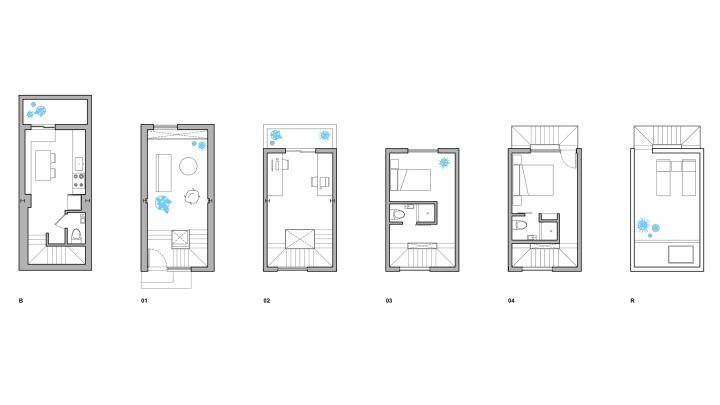 7tiny-tower-isa-architecture-residential-philadelphia-pennsylvania-usa_dezeen_2364_floor-plans