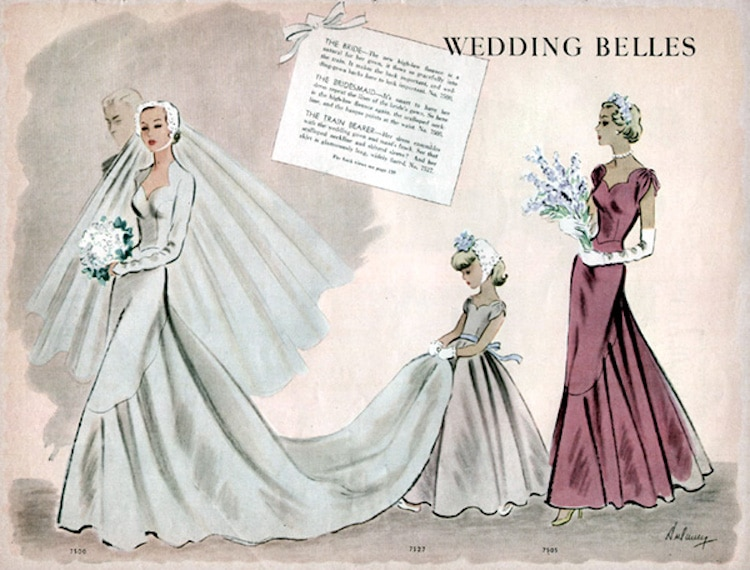 wedding-dress-pattern-1940s
