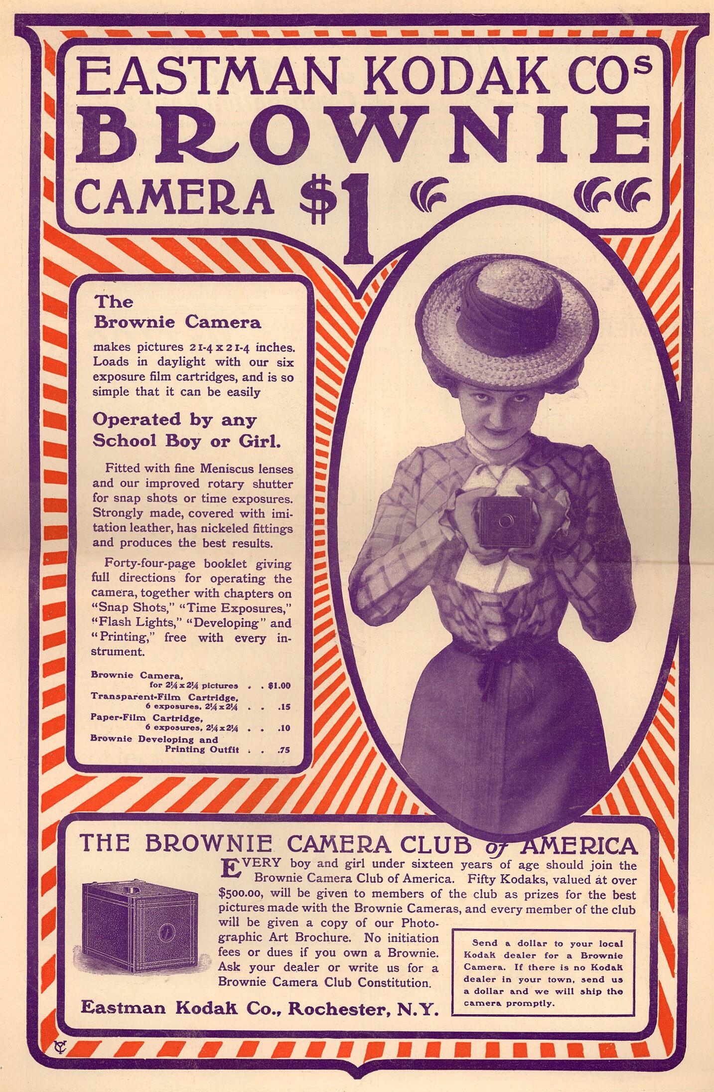 Brownie-camera-lady
